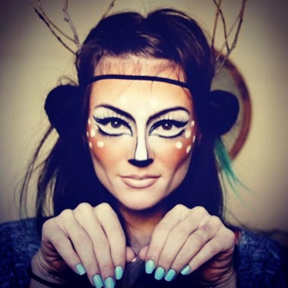 Simple Cat Painted Faces