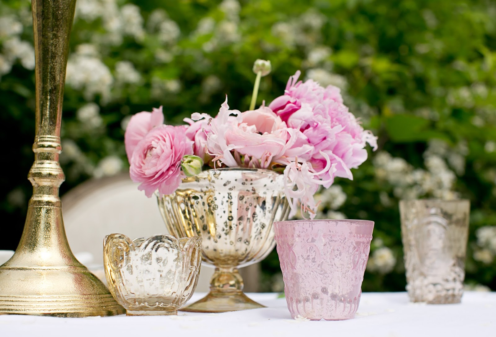 Diy table centerpieces for parties yasabe